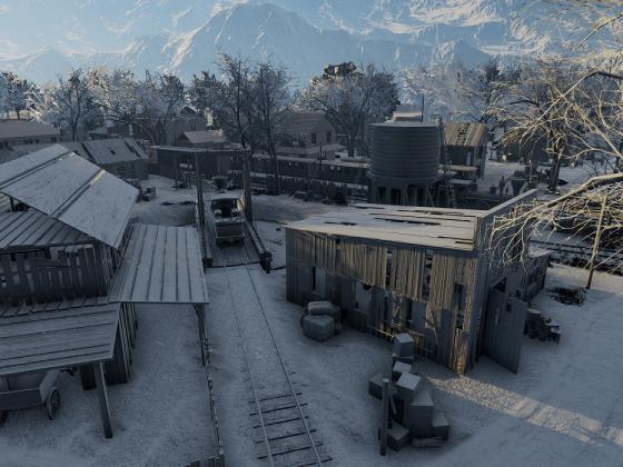 "Map ""Cranks Station"""