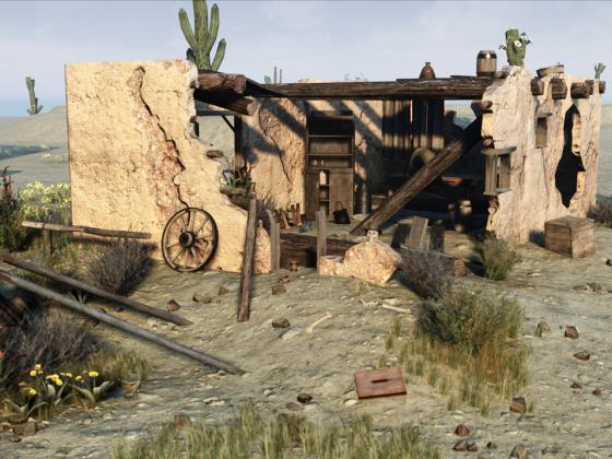 """Map """"Sonorah Desert"""""""