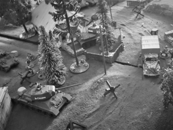 Schlacht von Krupki Runde 3