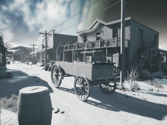 Black Powder Game Maps und Environment