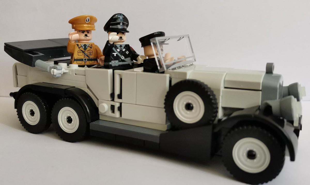 Mercedes G4, mit Besatzung