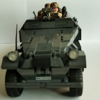 SDKfz 251 1 A, mit Elite Besatzung