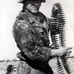 MG Schützen an der Front