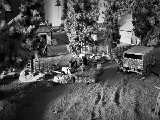 Schlacht von Krupki 1944 erste Runde